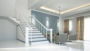 high-end renovation living room